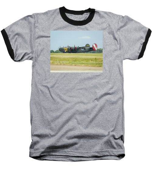 Consolidated B-24j Liberator Baseball T-Shirt