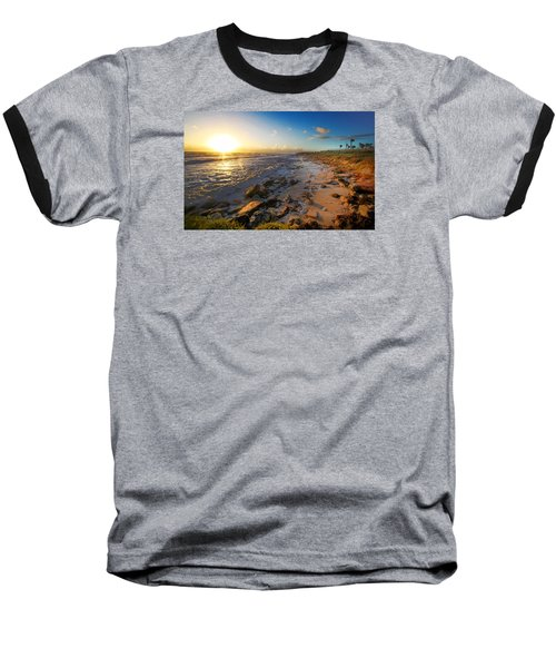 3 Degrees Below The Sun Baseball T-Shirt by Robert Och