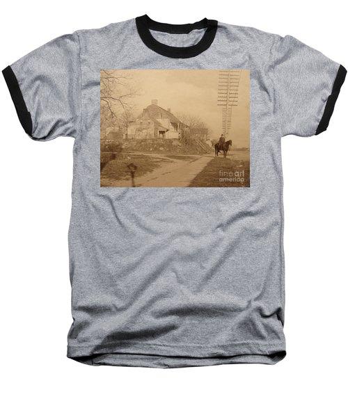 Dyckman Farmhouse  Baseball T-Shirt by Cole Thompson