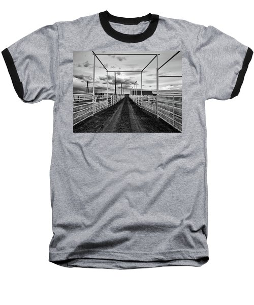 Empty Corrals Baseball T-Shirt by L O C