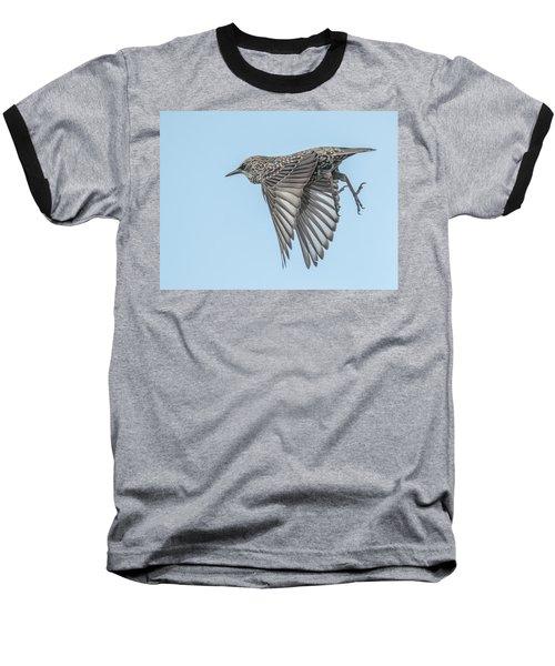 European Starling Baseball T-Shirt by Tam Ryan