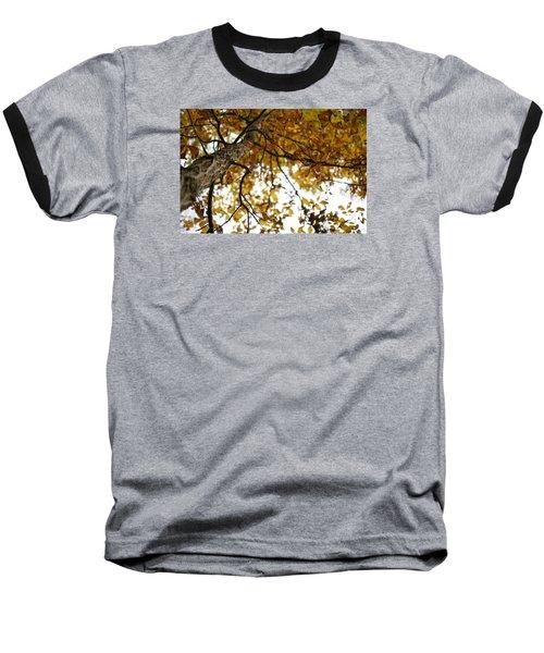 Fall Baseball T-Shirt by Heidi Poulin