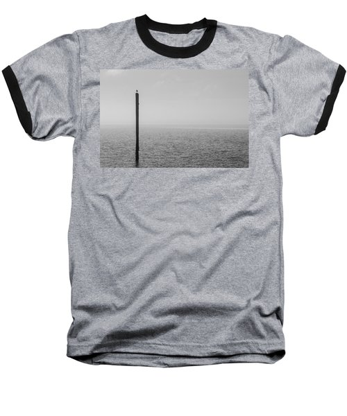 Fog On The Cape Fear River Baseball T-Shirt