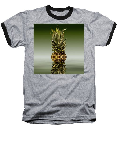 Baseball T-Shirt featuring the photograph Fresh Ripe Pineapple Fruits by David French