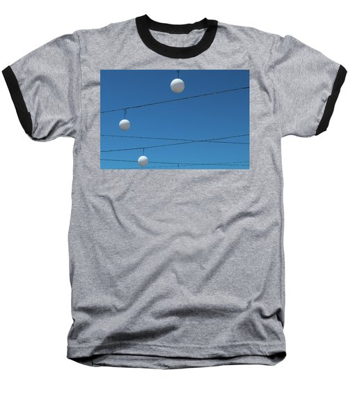 3 Globes Baseball T-Shirt
