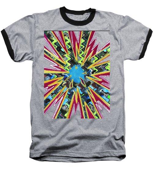 Goodluck Star Sparkles  Baseball T-Shirt