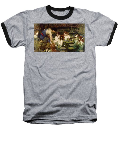 Hylas And The Nymphs Baseball T-Shirt