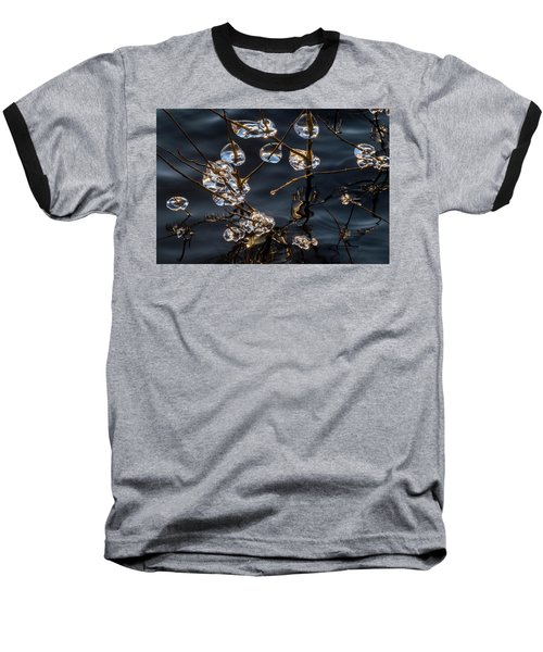 Ice Art Baseball T-Shirt