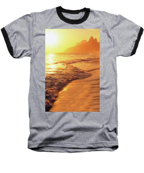 Ipanema Beach Rio De Janeiro Brazil Baseball T-Shirt