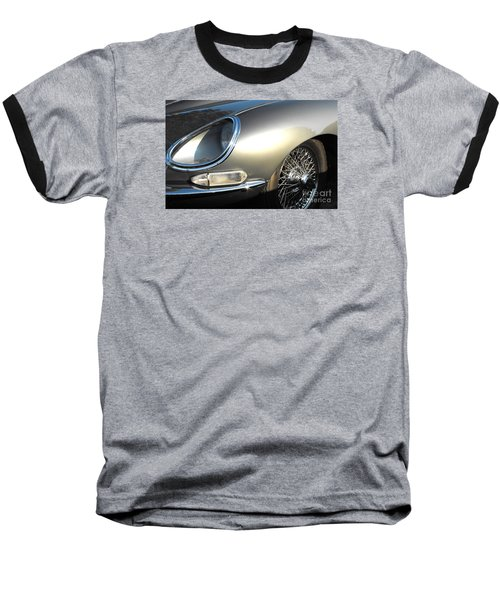 Jaguar E-type Baseball T-Shirt