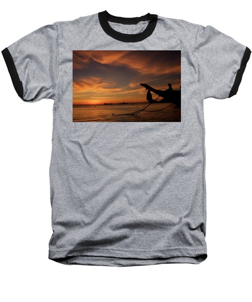 Koh Tao Island In Thailand Baseball T-Shirt by Tamara Sushko