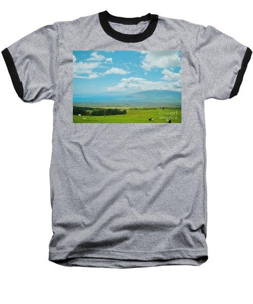 Kula Maui Hawaii Baseball T-Shirt by Sharon Mau