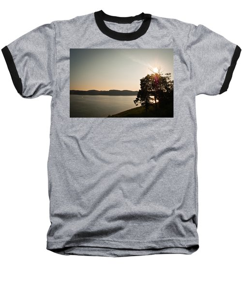 Lake Cumberland Sunset Baseball T-Shirt