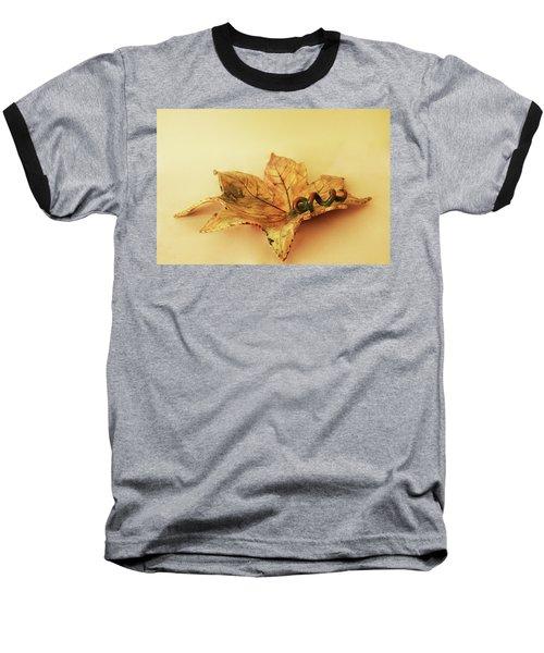 Leaf Plate1 Baseball T-Shirt