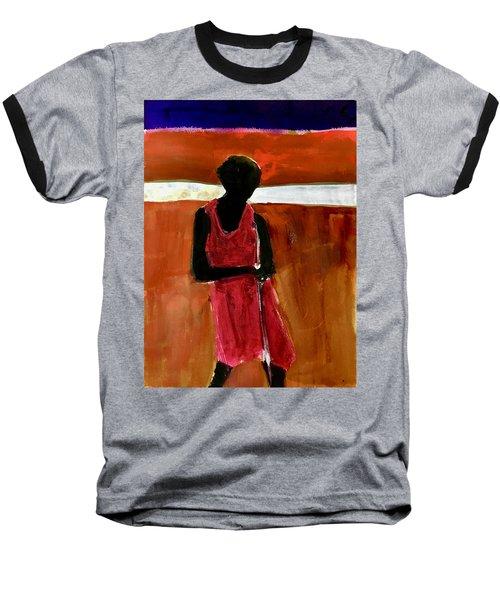 Masaai Boy Baseball T-Shirt