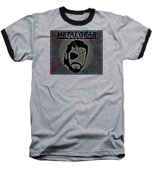 Metal Gear Solid Baseball T-Shirt