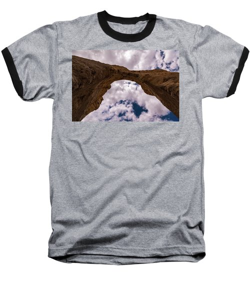 Baseball T-Shirt featuring the photograph Monument Rocks by Jay Stockhaus