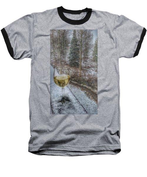 Mountain Living Baseball T-Shirt