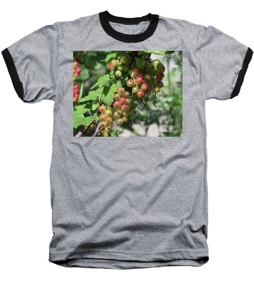 Baseball T-Shirt featuring the photograph My Currant by Elvira Ladocki