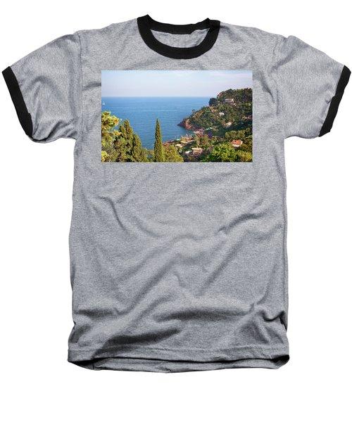 French Mediterranean Coastline Baseball T-Shirt