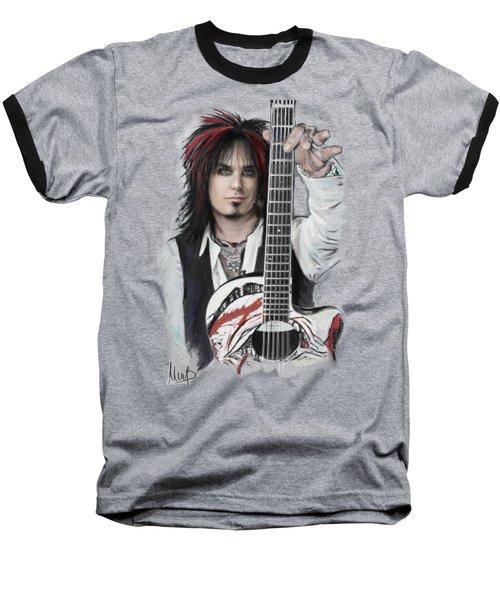 Nikki Sixx Baseball T-Shirt