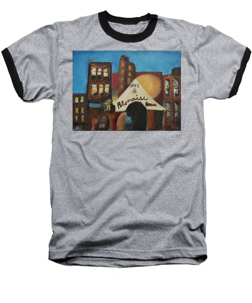 Baseball T-Shirt featuring the painting Nye's Polonaise Room by Susan Stone