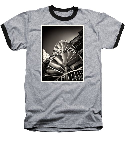 Pop Brixton - Spiral Staircase - Industrial Style Baseball T-Shirt