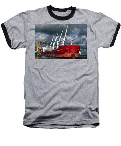 Port Of Amsterdam Baseball T-Shirt