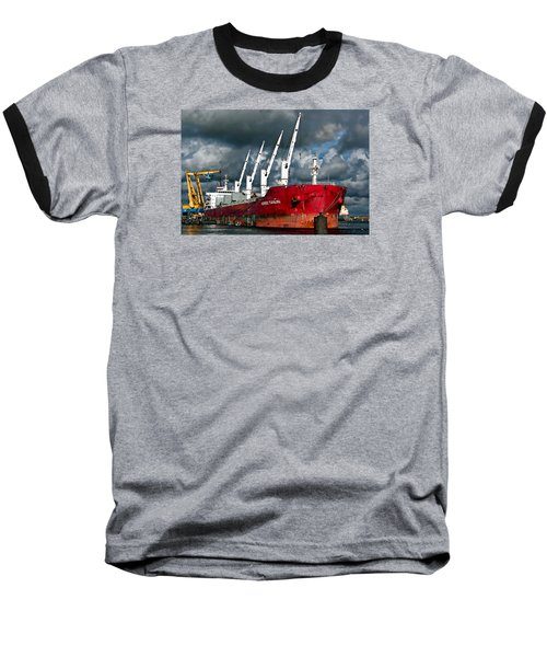 Port Of Amsterdam Baseball T-Shirt