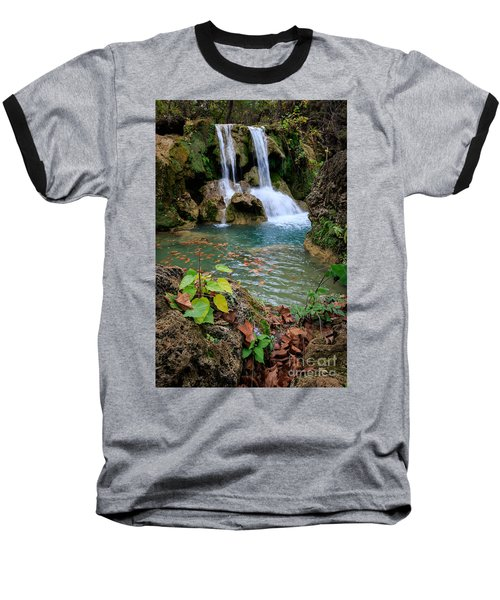 Price Falls In Autumn Color.  Baseball T-Shirt