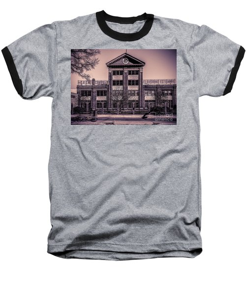 Baseball T-Shirt featuring the photograph Sauer Building by Melissa Messick