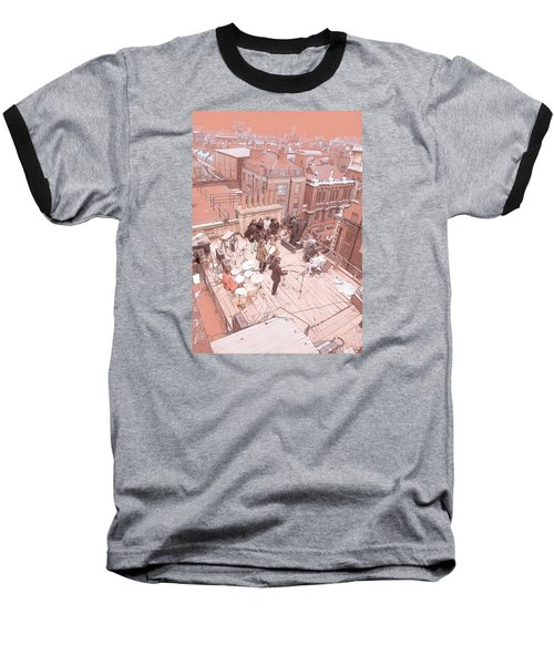 3 Savile Row, London W1s 3pb Baseball T-Shirt