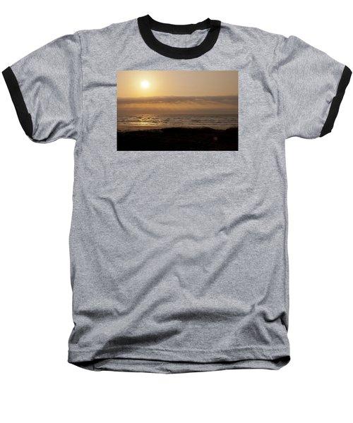 Sunrise At Beach Baseball T-Shirt