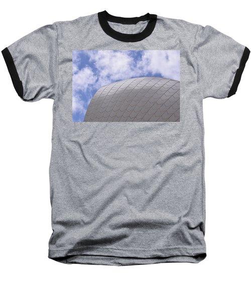 Sydney Opera House Roof Detail Baseball T-Shirt