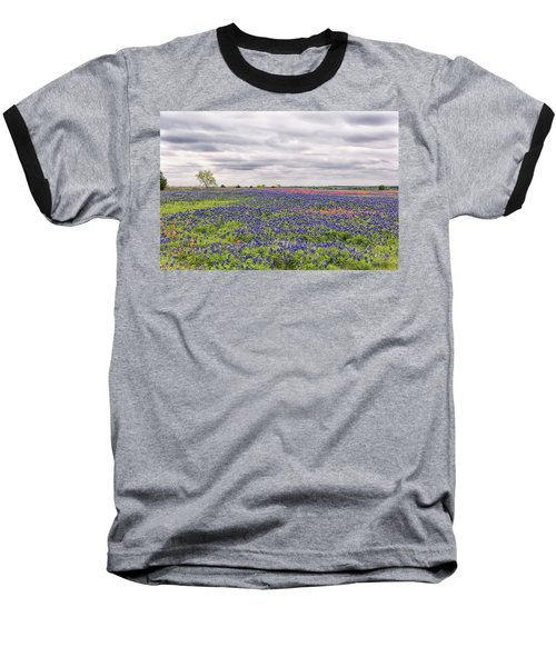 Texas Wildflowers 2 Baseball T-Shirt