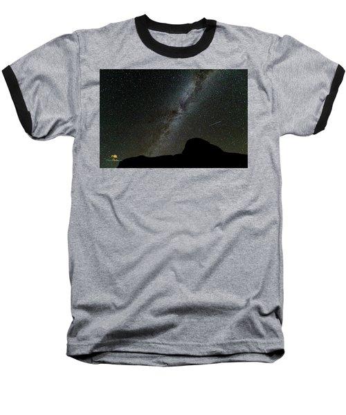The Milky Way Baseball T-Shirt by Jim Thompson