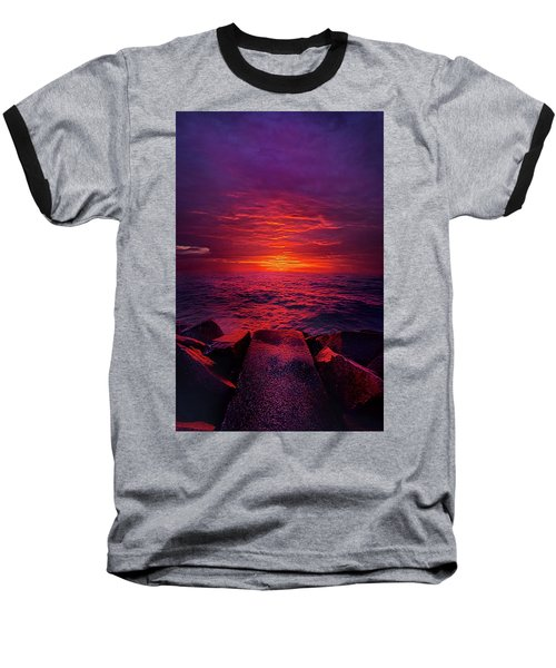 Baseball T-Shirt featuring the photograph The Path by Phil Koch