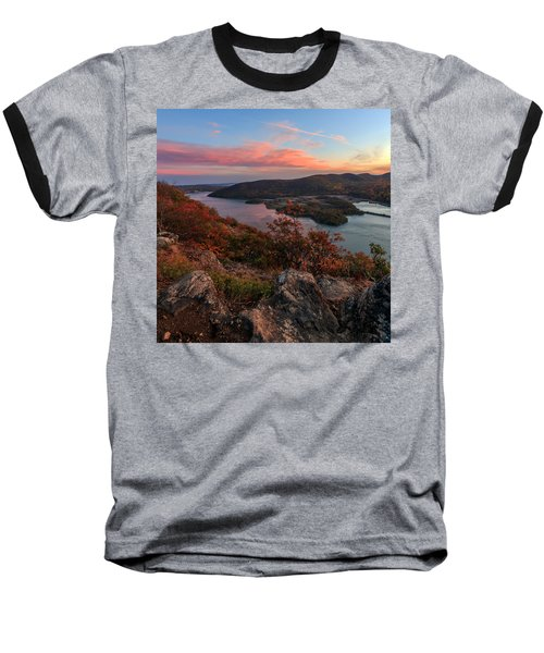 Baseball T-Shirt featuring the photograph The View  by Anthony Fields