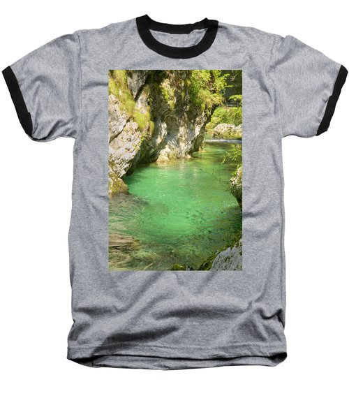 The Vintgar Gorge Baseball T-Shirt