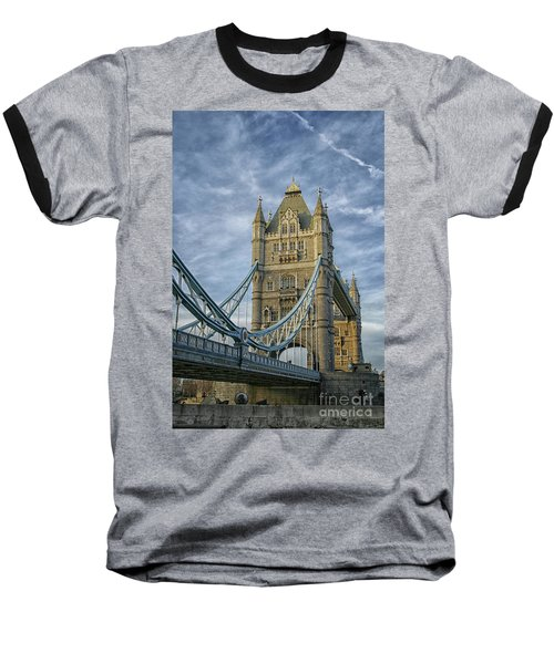 Tower Bridge London Baseball T-Shirt