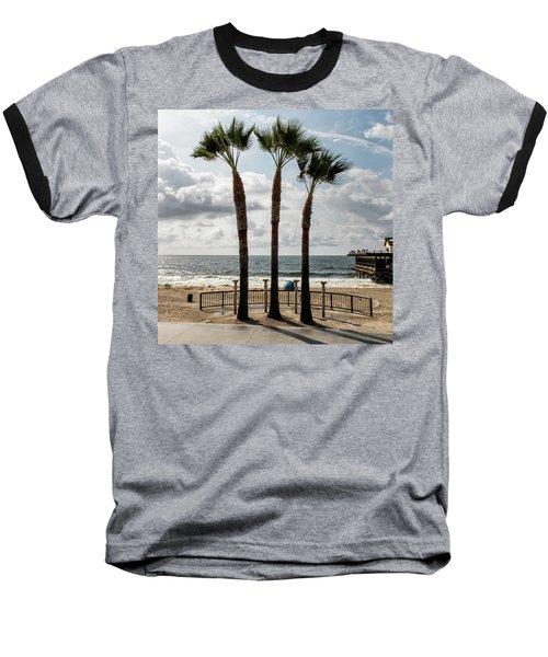 3 Trees Baseball T-Shirt