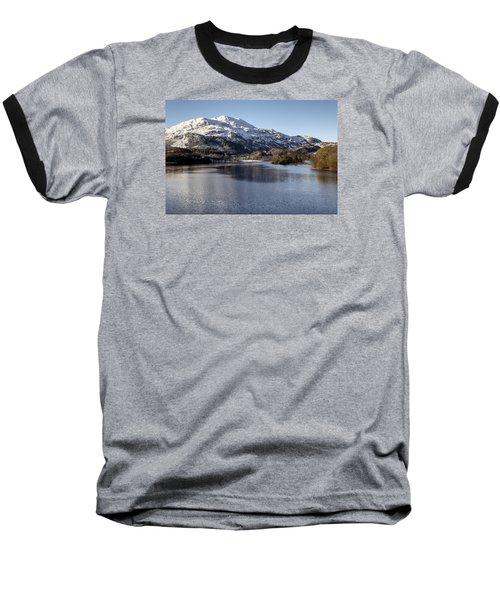 Trossachs Scenery In Scotland Baseball T-Shirt by Jeremy Lavender Photography
