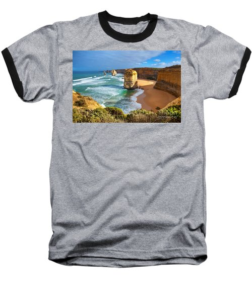 Baseball T-Shirt featuring the photograph Twelve Apostles Great Ocean Road by Bill  Robinson