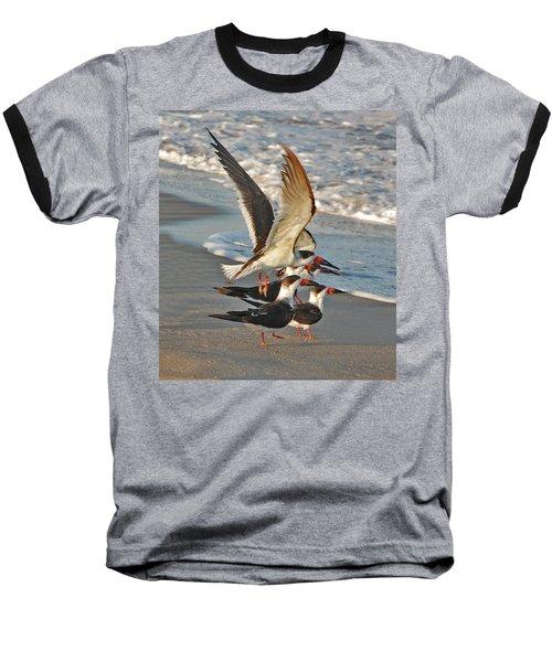 3- Upward And Onward Baseball T-Shirt by Joseph Keane