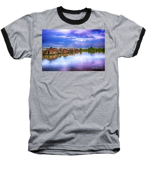 Baseball T-Shirt featuring the photograph Village by Charuhas Images
