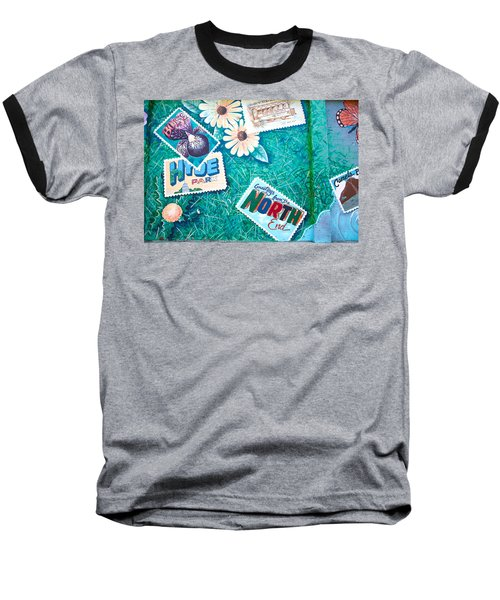 Wall Graffiti Art Baseball T-Shirt
