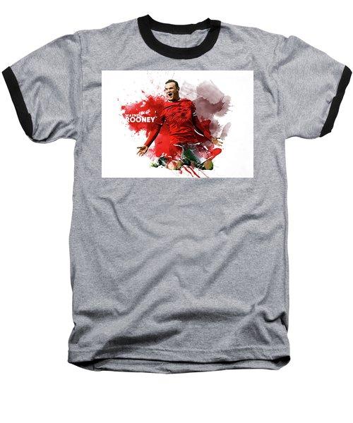 Wayne Rooney Baseball T-Shirt
