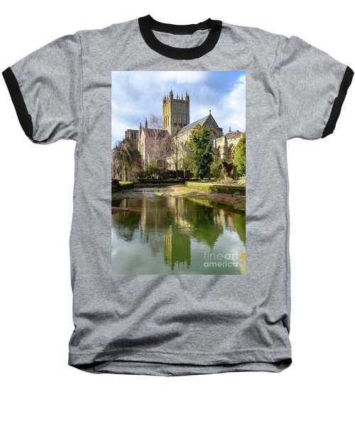 Wells Cathedral Baseball T-Shirt