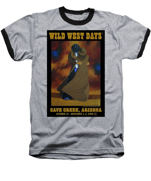 Wild West Days Poster/print  Baseball T-Shirt by Lance Headlee