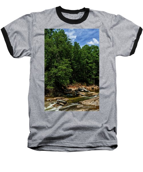 Baseball T-Shirt featuring the photograph Williams River After The Flood by Thomas R Fletcher